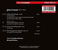 Orchesterwerke-A Downland Suite/Concertino Past. - Produktdetailbild 1