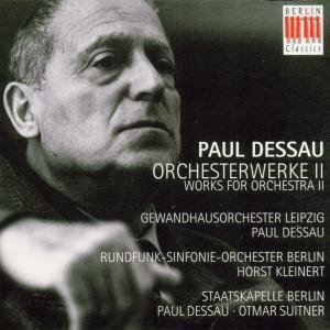 Orchesterwerke Ii, Dessau, Gl, Kleinert, Rsob, Suitner, Sb