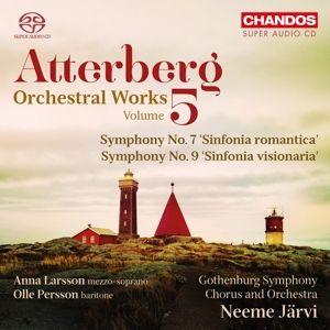 Orchesterwerke Vol.5-Sinfonien 7 & 9, Larsson, Persson, Kärvi, Gothenburg So & Chorus