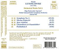 Orchesterwerke Vol.6 - Produktdetailbild 1
