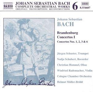 Orchesterwerke Vol. 6 (Brandenburgische Konzerte Vol. 1), Johann Sebastian Bach
