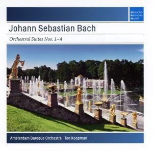 Orchestral Suites 1-4, Johann Sebastian Bach