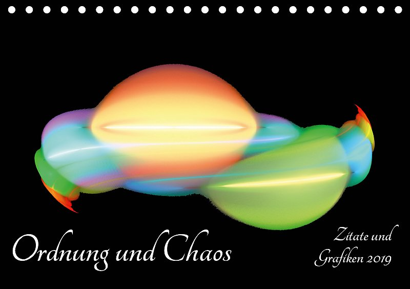 Ordnung Und Chaos Zitate Und Grafiken 2019 Tischkalender