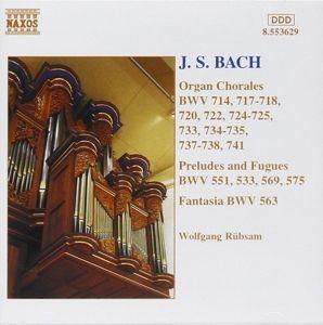 Org.Choraele*Naxos, Wolfgang Rübsam
