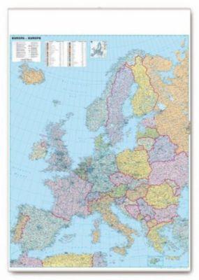 Organisations- und Straßenkarte Europa, Planokarte