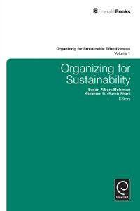 Organizing for Sustainable Effectiveness: Organizing for Sustainability