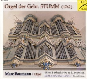 Orgel Der Gebr.Stumm, Marc Baumann