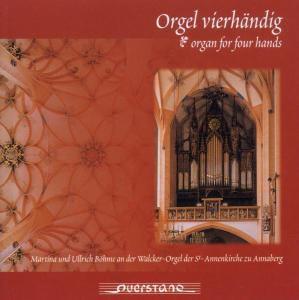 Orgel Vierhändig, Martina Böhme, Ulrich Böhme