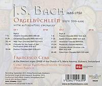 Orgelbüchlein And Chorals - Produktdetailbild 1