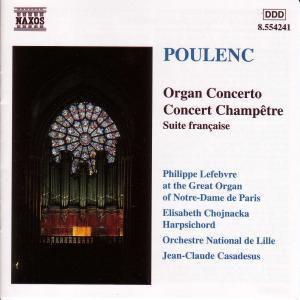 Orgelkonzert G-Moll*Lefebvre/C, Lefebvre, Chojnacka, Casadesus
