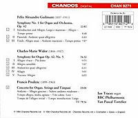 Orgelkonzert/Sinf.1/Sinf.5 - Produktdetailbild 1