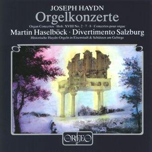 Orgelkonzerte D-Dur/F-Dur/C-Dur Hob.Xvii:2/7/8, Haselböck, Diedrichsen, Divertimento Salzburg