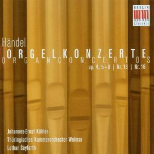 Orgelkonzerte Op.4,5-6/Nr.13/Nr.16, Johannes-ernst Köhler, Thüringisches Kammerorcheste