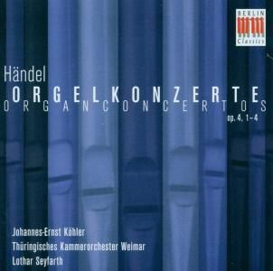 Orgelkonzerte Op.4, Nr. 1 - 4, J.E. Köhler, Seyfarth, Thüringisches Ko