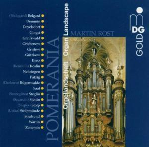 Orgellandschaft Pommern, Martin Rost