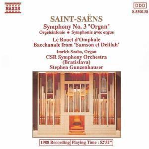 Orgelsinfonie/Le Rouet/Bacch., Szabo, Gunzenhauser, Csr Symph.