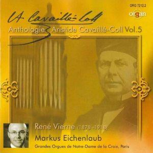 Orgelwerke, Markus Eichenlaub