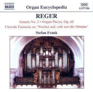 Orgelwerke 5: Orgel Sonate Nr. 2 / Orgelstücke / Choral-Fantasie No. 2, Stefan Frank