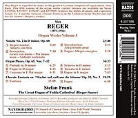 Orgelwerke 5: Orgel Sonate Nr. 2 / Orgelstücke / Choral-Fantasie No. 2 - Produktdetailbild 1