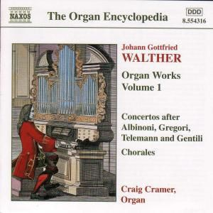 Orgelwerke Vol.1, Craig Cramer