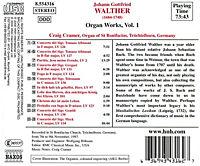 Orgelwerke Vol. 1 (Die Orgel von St. Bonifazius in Tröchtelborn) - Produktdetailbild 1