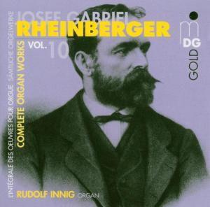 Orgelwerke Vol. 10, Rudolf Innig