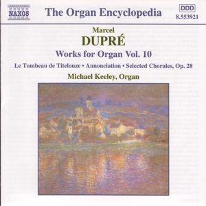 Orgelwerke Vol. 10, Michael Keeley