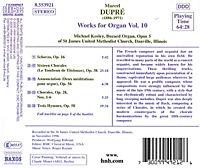 Orgelwerke Vol.10 - Produktdetailbild 1