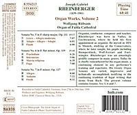 Orgelwerke Vol. 2 (Die Orgel des Doms zu Fulda) - Produktdetailbild 1