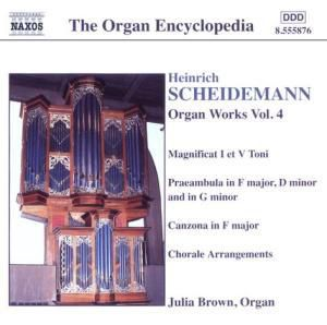 Orgelwerke Vol. 4, Julia Brown