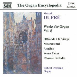 Orgelwerke Vol. 5, Robert Delcamp