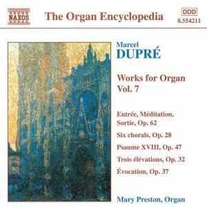 Orgelwerke Vol. 7, Mary Preston