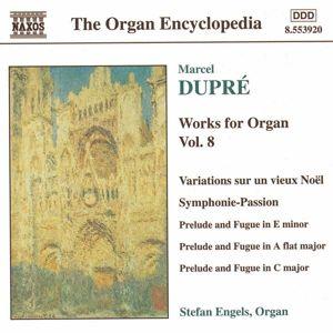 Orgelwerke Vol. 8, Stefan Engels