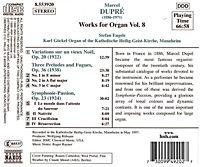 Orgelwerke Vol. 8 - Produktdetailbild 1