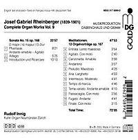 Orgelwerke Vol.9 - Produktdetailbild 1