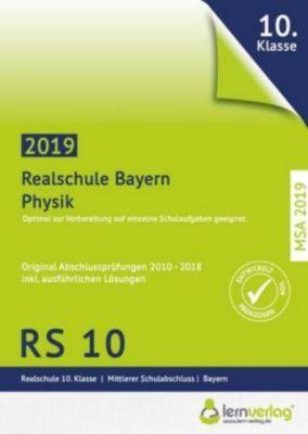 Original Abschlussprüfungen Physik Realschule Bayern 2019