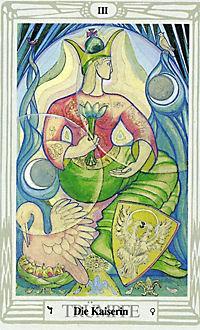 Original Aleister Crowley Thoth Tarot, Tarotkarten - Produktdetailbild 2