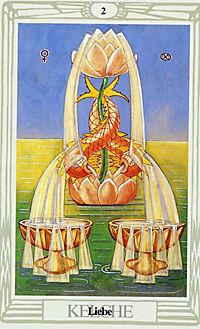 Original Aleister Crowley Thoth Tarot, Tarotkarten - Produktdetailbild 3