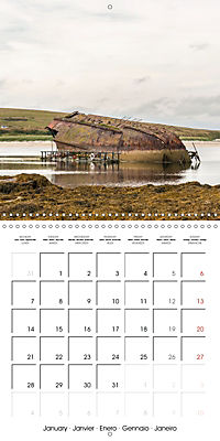 Orkney's Coastlines (Wall Calendar 2019 300 × 300 mm Square) - Produktdetailbild 1