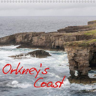 Orkney's Coastlines (Wall Calendar 2019 300 × 300 mm Square), Markus Limmer