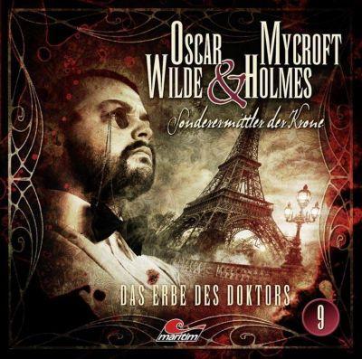 Oscar Wilde & Mycroft Holmes - Das Erbe des Doktors, Audio-CD, Jonas Maas