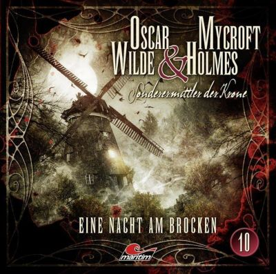 Oscar Wilde & Mycroft Holmes - Eine Nacht am Brocken, Audio-CD, Jonas Maas
