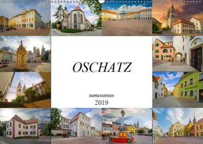 Oschatz Impressionen (Wandkalender 2019 DIN A2 quer), Dirk Meutzner
