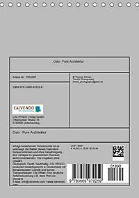 Oslo - Pure Architektur (Tischkalender 2019 DIN A5 hoch) - Produktdetailbild 13
