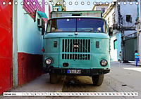 Ostalgie pur - DDR-Fahrzeuge auf Kuba (Tischkalender 2019 DIN A5 quer) - Produktdetailbild 1