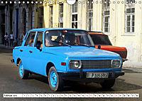 Ostalgie pur - DDR-Fahrzeuge auf Kuba (Wandkalender 2019 DIN A4 quer) - Produktdetailbild 2