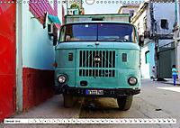 Ostalgie pur - DDR-Fahrzeuge auf Kuba (Wandkalender 2019 DIN A3 quer) - Produktdetailbild 1