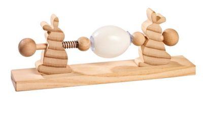 Ostereier-Malmaschine aus Holz
