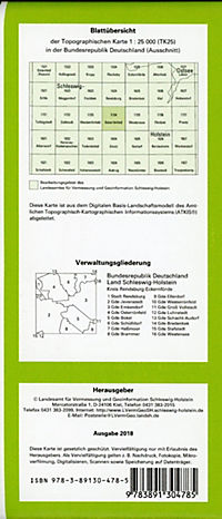 Osterrönfeld 1 : 25 000 - Produktdetailbild 1