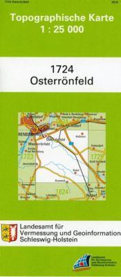 Osterrönfeld 1 : 25 000